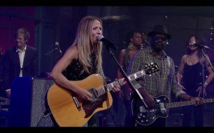 Sheryl Crow - Long Road Home (Live on Letterman)