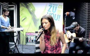 Смотреть музыкальный клип Antonia - Stay Shi Diamonds (Cover Rihanna) (Live @ Radio ZU, 2013)