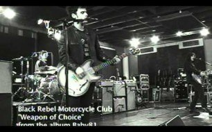 Black Rebel Motorcycle Club - Weapon Of Choise (Live)