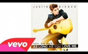 Смотреть музыкальный клип Justin Bieber - As Long As You Love Me (Audio) ft. Big Sean