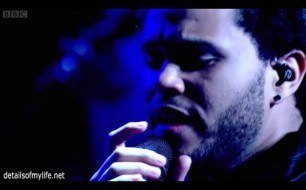 The Weeknd - High For This (Live @ Jools Holland)