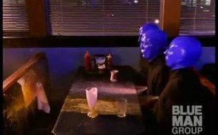 �������� ����������� ���� Blue Man Group - I Feel Love