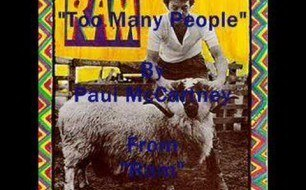 �������� ����������� ���� Paul McCartney - Too Many People