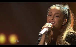 Смотреть музыкальный клип Ariana Grande - The Way & Problem (Live @ The iHeartRadio)