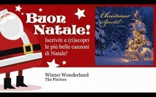 The Platters - Winter Wonderland