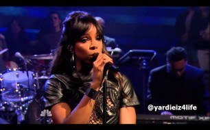 Kelly Rowland - Gone (feat. Wiz Khalifa) (Live @ Jimmy Fallon, 2013)