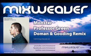 Смотреть музыкальный клип Professor Green - Monster (Doman & Gooding Club Mix Clean)