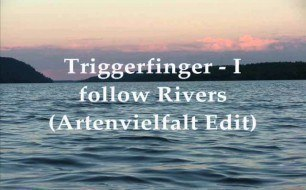 Смотреть музыкальный клип Triggerfinger - I Follow Rivers (Artenvielfalt Edit)