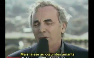 Charles Aznavour - The Times We ve Known