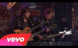 �������� ����������� ���� Bon Jovi - Wanted Dead Or Alive (Live @ Letterman)