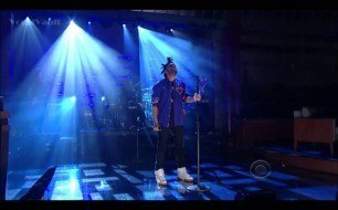 The Weeknd - Pretty (Live @ David Letterman, 2013)