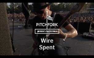 �������� ����������� ���� Wire - Spent (Live @ Pitchfork Music Festival, 2013)