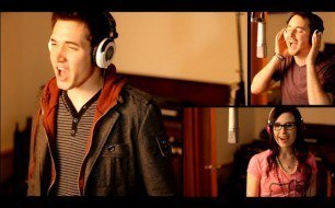 Смотреть музыкальный клип We Are Young - Fun. Official Music Video Cover by Jake Coco, Corey Gray and Caitlin Hart