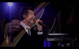 �������� ����������� ���� Robin Thicke - Lost Without You (Live)