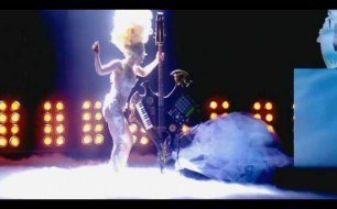 Lady Gaga - Medley (Live @ Brit Awards, 2010)