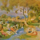 Laundresses at Cagnes - ок 1912