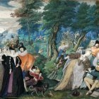 A Party in open Air. An Allegory, C. 1590-1595
