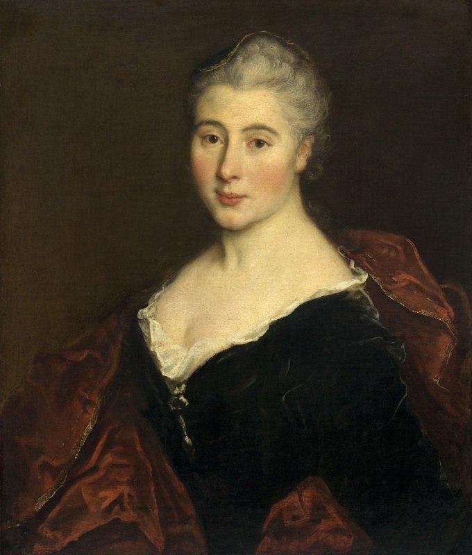Французская школа, 18 век - Женский портрет