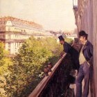 A Balcony - 1880 - Private collection
