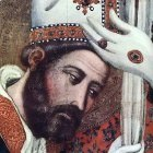 BASSA Arnaldo The Consecration Of St Marcus detail