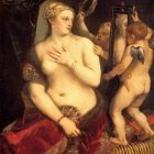 Titian Venus in front of the mirror 1553 54
