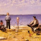Jansson Eugene Boys On The Beach