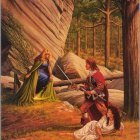0uro0520  larry elmore  green witch
