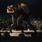 George Bellows (1882-1925) - Club Night (1907 National Gallery of Art)