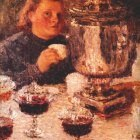 grabar by the samovar 1905