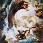 0uro0490  boris vallejo  the loch ness monster lives
