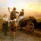 Salmson Hugo Federick Return From The Fields