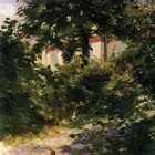 A Path in the Garden at Rueil - 1882