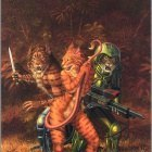 0uro0341  larry elmore  kzin seductress