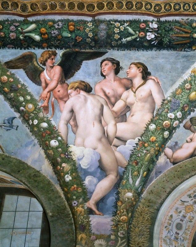 картина три грации рафаэля