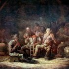 CUYP Benjamin Gerritsz Peasants In The Tavern