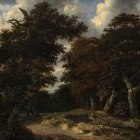 Road through an oak Forest, 1646-47