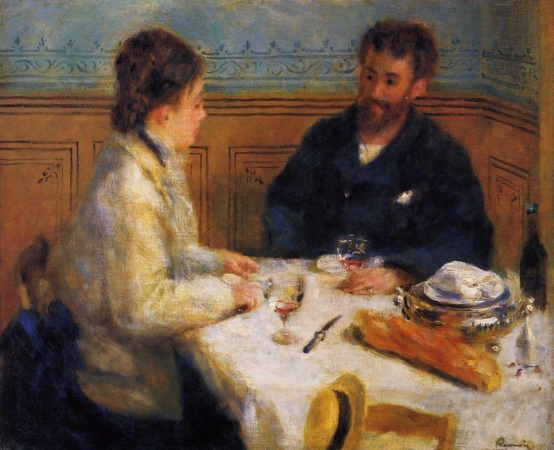 the luncheon Le déjeuner sur l'herbe [luncheon on the grass] this fragment, there is a second also in the musée d'orsay, is one of the remaining parts of the monumental luncheon on the grass by monet the work was started in the spring of 1865 and measured over four metres by six.