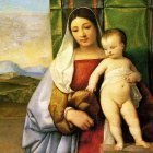 Titian The gipsy madonna 1510 1511