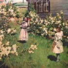 borisov-musatov flowers in may 1894