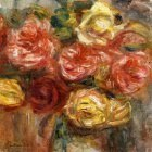 Bouquet of Roses in a Vase - 1900