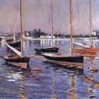 Boats on the Seine at Argenteuil - 1890
