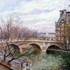The Pont Royal and the Pavillion de Flore, 2 1903