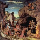 Andrea Mantegna Adoration of the three kings 1461