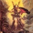 15 Daruma!  Frank Frazetta  Dark Kingdom