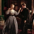 George Cochran Lambdin (1830-1896) - The Consecration, 1861 (1865 Indianapolis Museum of Art)