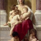 Adolphe-William Bouguereau - Charity