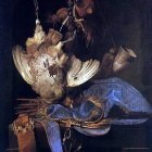 AELST Willem Van Still Life With Hunting Equipment