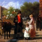 Agasse Jacques Laurent The Flower Seller