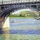 The Argenteuil Bridge and the Seine - 1883