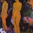 Gauguin - Adam And Eve